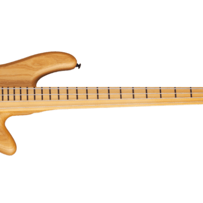 Schecter Stiletto Session-4 FL Active Fretless 4-String Bass Aged Natural Satin