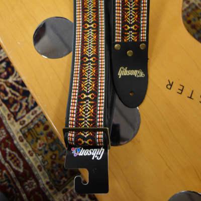 Gibson ASVS-EMB Vintage Org The Ember guitar strap for sale