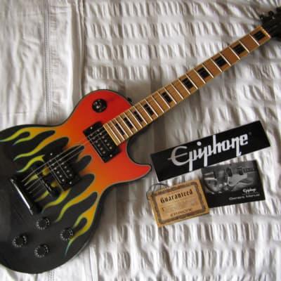 Epiphone John Connolly JC-LP Les Paul Custom Hot Rod Flames for sale