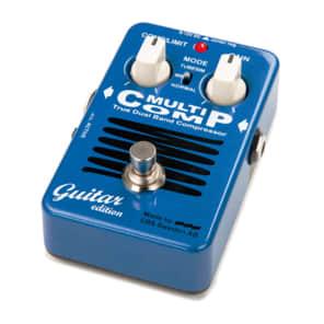 EBS MultiComp Guitar Edition True Dual Band Compressor Pedal