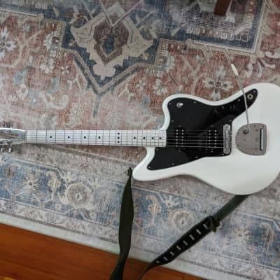 Fender Jazzmaster  Electrical Guitar Company White for sale