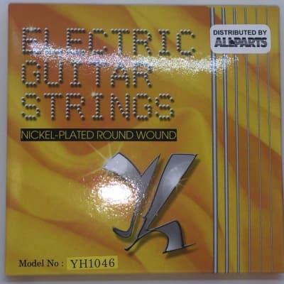 Electric Guitar Strings Medium 10-46 Gauge Allparts