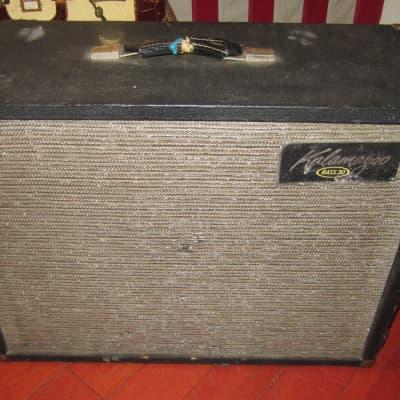 Vintage 1963 Kalamazoo Bass 30 Combo Bass Tube Amp Black for sale