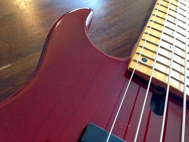 lefty sadowsky 24 fret 5 string bass amazing reverb. Black Bedroom Furniture Sets. Home Design Ideas