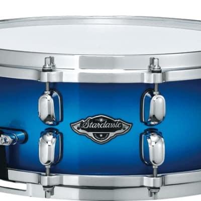 Tama PSS65TWB Starclassic Performer B/B 6.5 x 14 Snare Drum Twilight Blue image