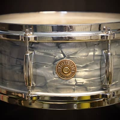 Gretsch Snare Round Badge 8 Lugs Original Vintage 1968!