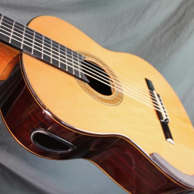 William Falkiner Lutherie Lattice braced classical guitar 2018 natural finish for sale