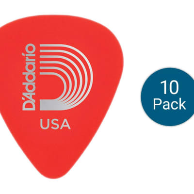 Planet Waves 1DRD1 Duralin Super Light Guitar Picks - 10-Pack