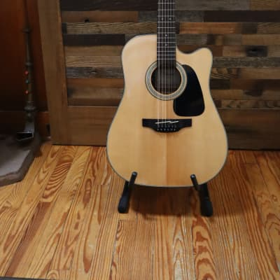 Takamine GD30CE-12 NAT G30 Series 12-String Dreadnought Cutaway Acoustic/Electric Guitar Natural Glo