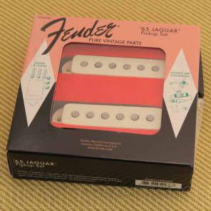 Fender Pure Vintage '65 Jaguar Pickup Set, Neck & Bridge 099-2238-000  Vintage White