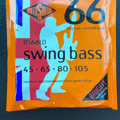 Rotosound RS66LD Swing Bass 66 Long Scale Bass Strings 45-105