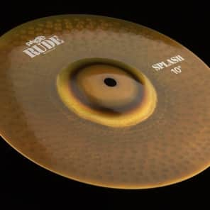 "Paiste 10"" RUDE Splash Cymbal"
