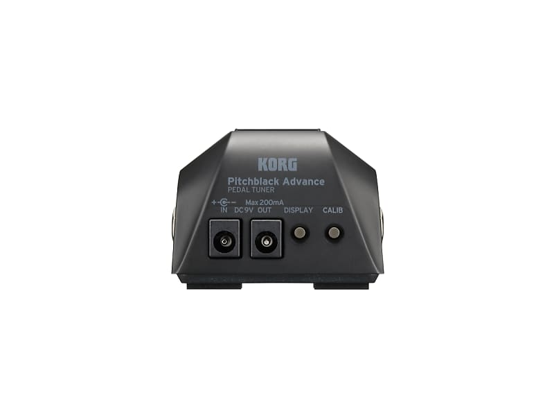 korg pb ad pitchblack advance pedal tuner for guitar and bass reverb. Black Bedroom Furniture Sets. Home Design Ideas