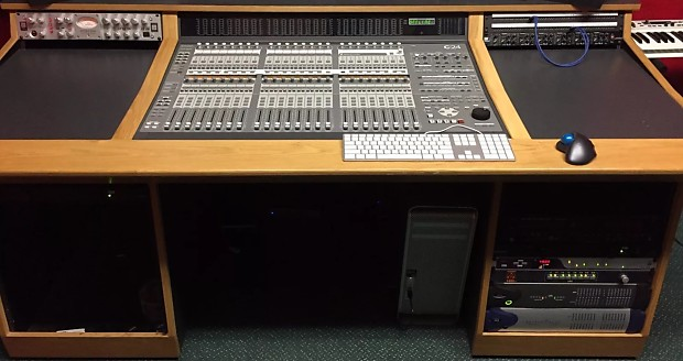 Avid C24 And Sound Construction Desk