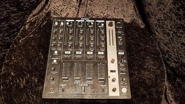 Denon DN-X1100 4-Channel DJ Mixer | Sam Ash Tampa