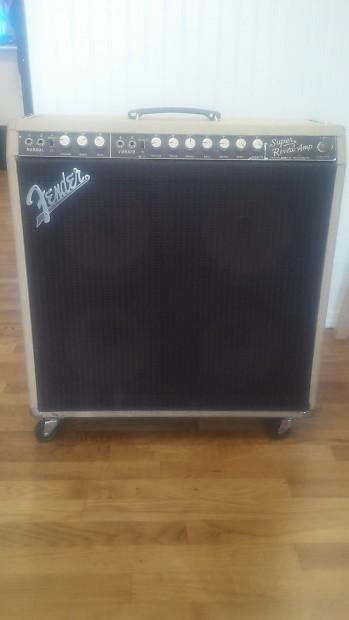 Fender Super Reverb 1968 Blonde