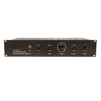 de Lisle de Lisle Amp-Speaker Selector 8×8 with Reactive Attenuator Load Box and DI for sale