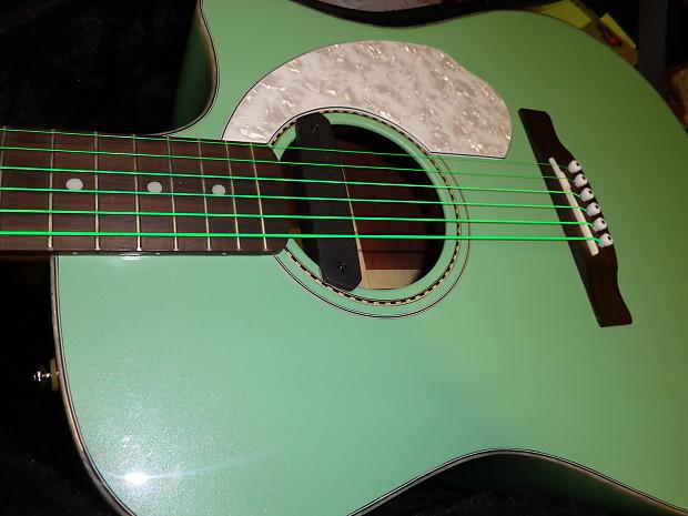 Fender Sonoran 2012 Sea Foam Green Reverb
