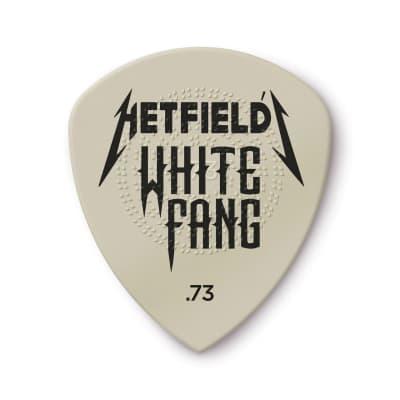 Dunlop PH122P073 James Hetfield White Fang Custom Flow .73mm Guitar Picks (6-Pack)