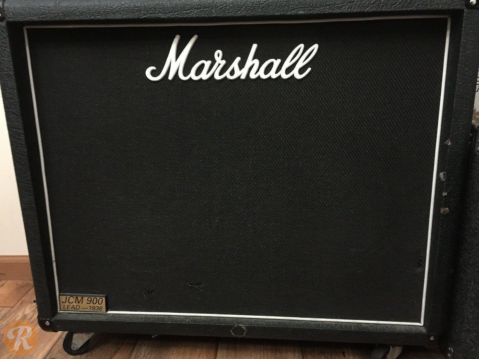 marshall jcm 900 lead series model 1936 2x12 cabinet reverb. Black Bedroom Furniture Sets. Home Design Ideas