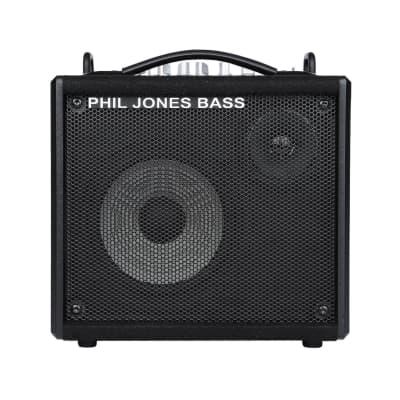 """Phil Jones Bass Micro 7 50W 1 x 7"""" plus 3"""" Tweeter Bass Combo Amplifier -Display Model"""