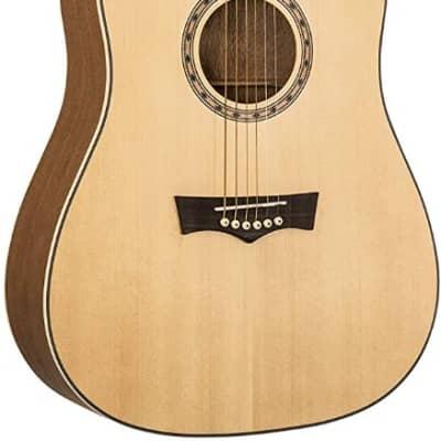 Peavey DW-1 Delta Woods Spruce Top Dreadnought Acoustic Guitar  #03620190 for sale