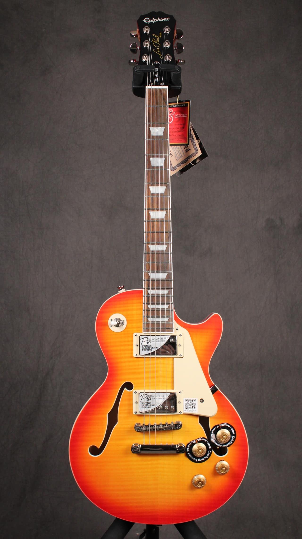 E S S E N T I A L: Epiphone Les Paul ES Pro Faded Cherry Sunburst