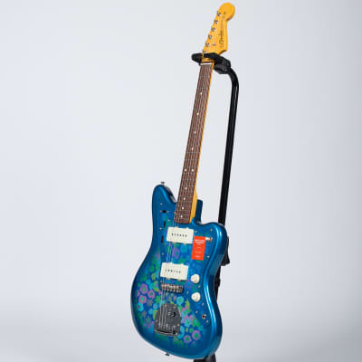 Fender Traditional 60s Jazzmaster - Rosewood, Blue Flower for sale