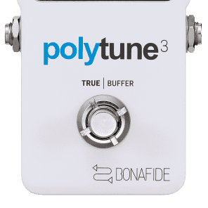 TC Electronic Polytune 3 Polyphonic Tuner Pedal!