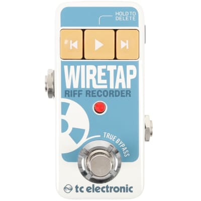 TC Electronic Wiretap Riff Recorder pedal for sale