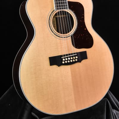 Guild F-512 Rosewood and Sitka Spruce 12 String Natural finish top for sale