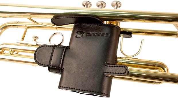 Protec Trumpet 6 Point Leather Valve Guard Reverb