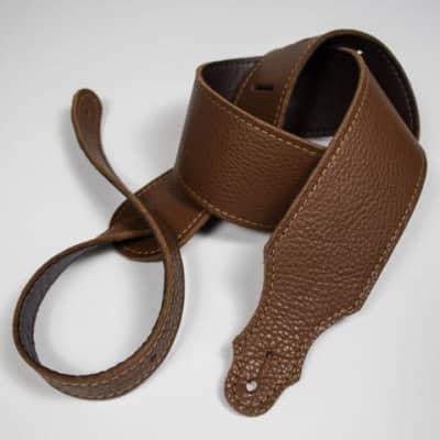 "Franklin Purist Glove Leather Guitar Strap - Caramel / 2 1/2"""