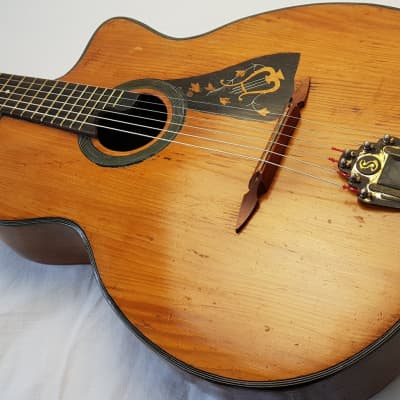 RARE Vintage Sonora Gypsy Jazz Macaferri Selmer Style Busato 1940s Natural for sale