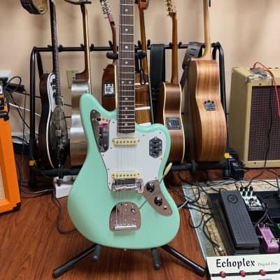 Fender American Original '60s Jaguar Surf Green/Rosewood Fretboard with bridge upgrade