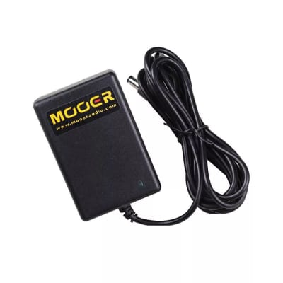 Mooer 9V DC, 2A, power supply works on all Mooer 9V pedals and Ocean Machine, Red Truck