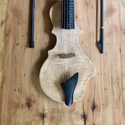 Togaman Guitarviol Nouveau Spartan 2015 Natural Satin Finish for sale