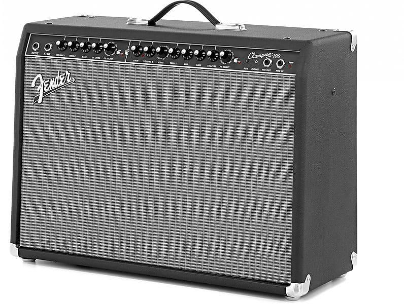 fender champion 100 100 watt guitar combo amplifier reverb. Black Bedroom Furniture Sets. Home Design Ideas