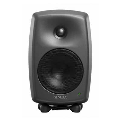 Genelec 8020D PM Active Studio Monitors (Single) - Dark Grey