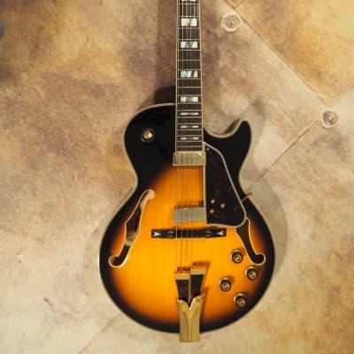 Ibanez GB10SE-BS George Benson Signature Series Hollowbody Electric Guitar Brown Sunburst