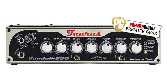 Taurus Vandall 500 Bass Amplifier (Tube & Solid State) + Free Shipping