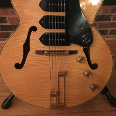 Epiphone Zephyr Blues Deluxe 2003 Blonde for sale