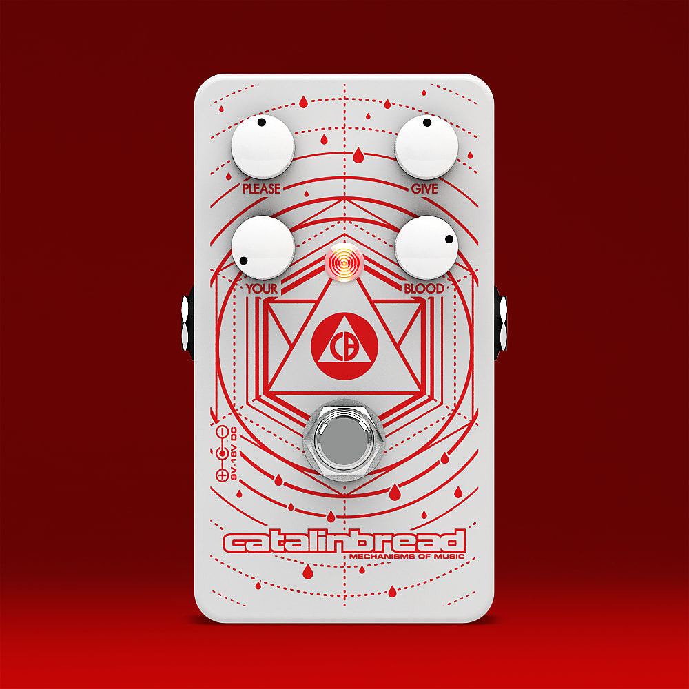 Catalinbread Effects Blood Donor (charity pedal)