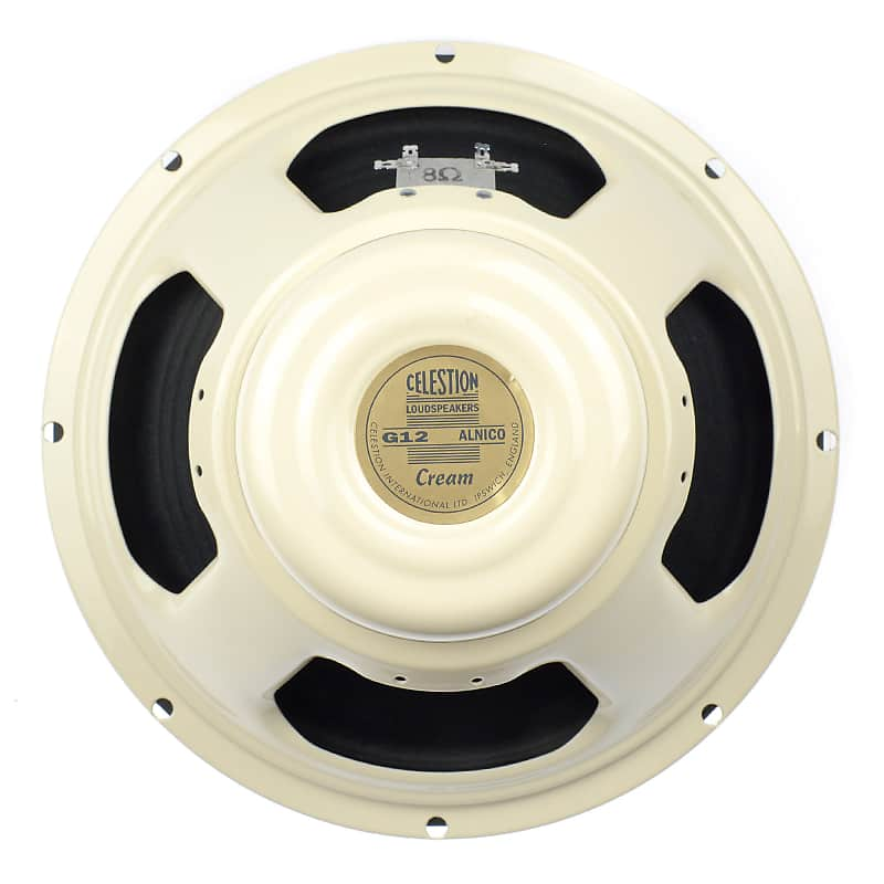 celestion alnico cream 8 ohm 12 90w vintage tone guitar reverb. Black Bedroom Furniture Sets. Home Design Ideas