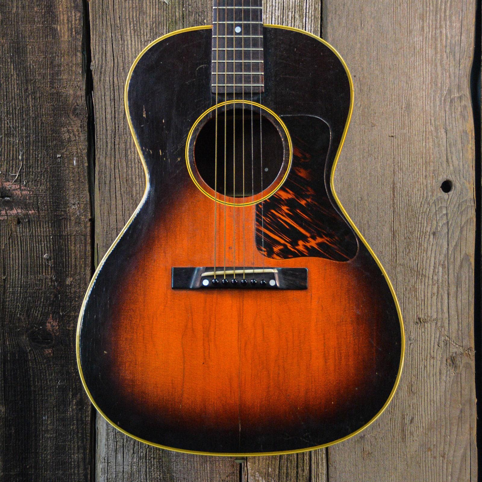 Gibson 1942 L-00 Vintage Acoustic Guitar Sunburst