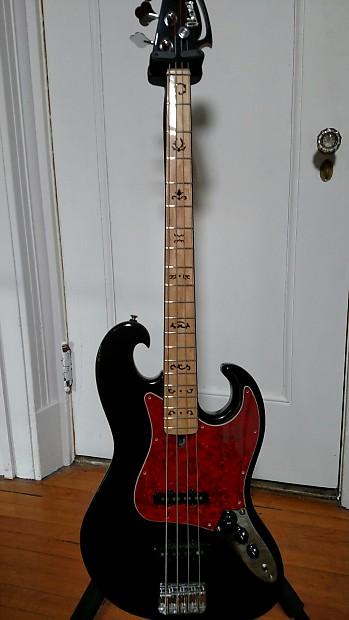 Rare Ibanez Black Eagle Jazz Bass Reverb