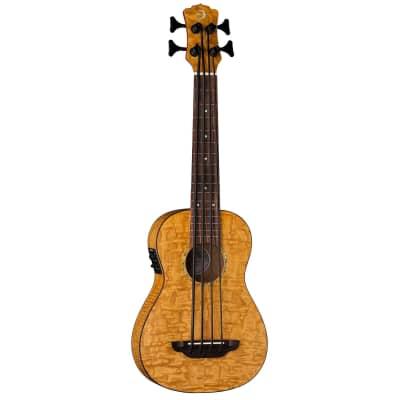 Luna Bari-Bass w/Preamp & Gigbag Quilt Top for sale