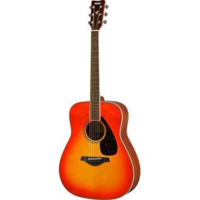Yamaha FG820 AB  Solid Top Acoustic Guitar - Autumn Burst for sale