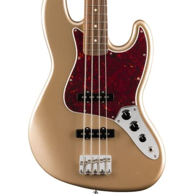 Fender Vintera '60s Jazz Bass®, Pau Ferro Fingerboard - Firemist Gold for sale