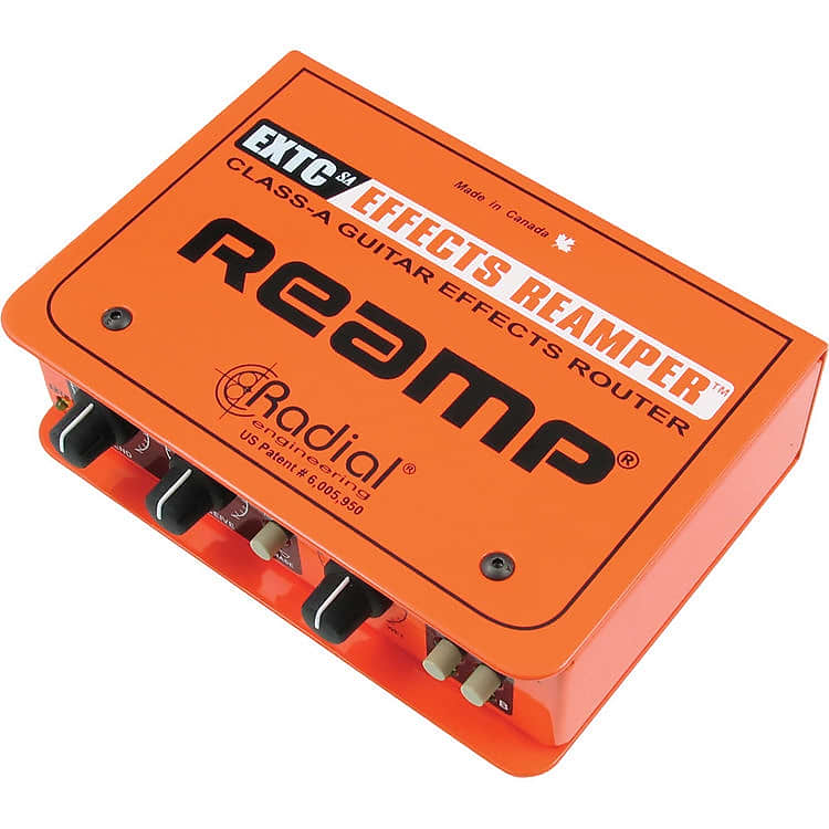 radial extc sa stand alone guitar effects interface reverb. Black Bedroom Furniture Sets. Home Design Ideas